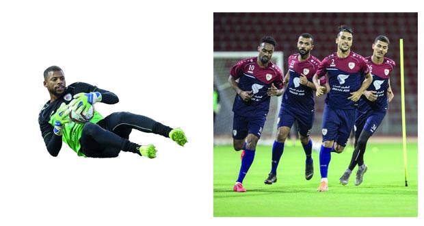 منتخبنا الوطني الأول لكرة القدم يكثف من تدريباته وسط معنويات عالية