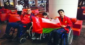 السلطنه تشارك في بطوله البوتشيا لشديدي الإعاقة