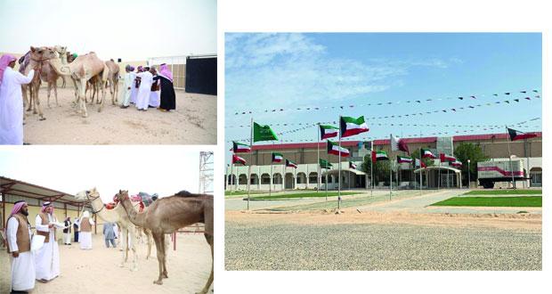 انطلاق منافسات بطولة كأس الخليج السادسة لسباقات الهجن بالكويت
