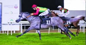 الحصان جبلاني للخيالة السلطانية يفوز بالمركز الأول في أبوظبي
