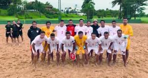 اليوم .. منتخبنا الوطني لكرة القدم الشاطئية يخوض مباراته الودية الثالثة أمام السنغال