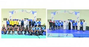 وزارة الشؤون الرياضية تحتفل بتتويج الفائزين في مسابقة ثلاثيات كرة السلة للذكور والإناث