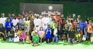 اتحاد التنس ينظم البطولة الشهرية الثالثة للناشئين
