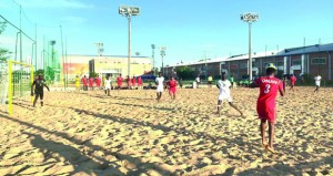 منتخبنا الوطني للقدم الشاطئية يختتم تجاربه بمعسكره الخارجي بالفوز على السنغال