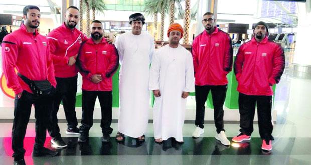 المنتخب الوطني لبناء الأجسام والفيزيك يشارك في بطولة العالم بإمارة الفجيرة