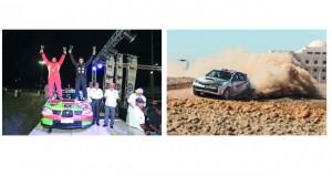 زكريا العامري يتوج بالجولة الأولى لرالي عمان والطوقي وصيفا