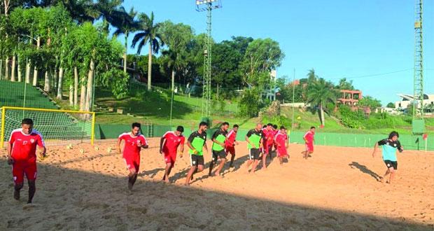 منتخبنا الوطني لكرة القدم الشاطئية يدخل غدا أجواء مونديال الباراجواي