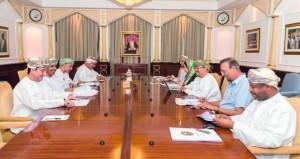 الاجتماع الثالث للجنة المشتركة بين جامعة السلطان قابوس والهيئة العامة للتعدين
