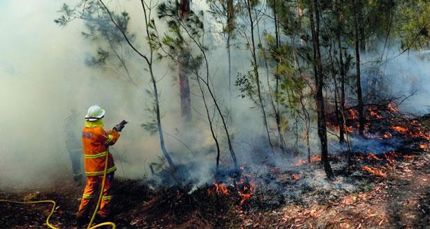 الحرائق تضع مدنا أسترالية في ظروف خطيرة