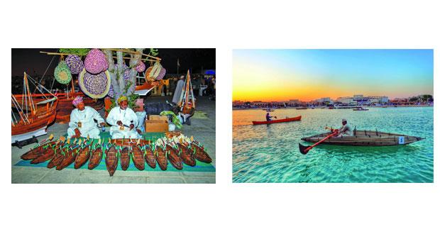 مفردات التراث البحري العماني في مهرجان المحامل التقليدية بالدوحة