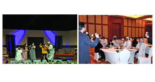 """قطر تعرض """"موقف صادق"""".. وجلال عبدالكريم يقدم حلقة حول """"تقنيات الحركة المسرحية"""""""