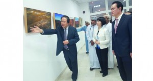 اختتام معرض التصوير الصيني بالجمعية العمانية للتصوير الضوئي