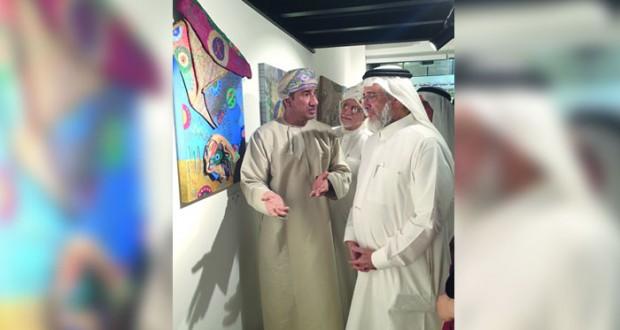 موسى عمر يشارك في سمبوزيوم نواة الفن بلا حدود في السعودية