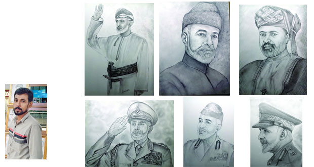 التشكيلي الهندي أكبر محمد يعرض 49 لوحة تشكيلية بالقلم الرصاص والفحم