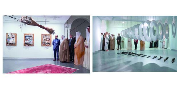 حاكم الشارقة يفتتح الدورة الـ 22 من مهرجان الفنون الإسلامية