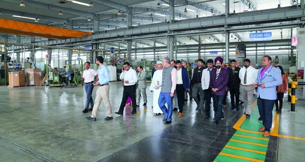 """وفد تجاري هندي يطلع على الفرص الاستثمارية في """"مدائن"""""""