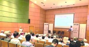 """""""عمان للوجيستيات"""" يطلع الجهات المعنية على أحدث الإمكانيات في المنتدى اللوجيستي """"التجارة أولاً"""""""