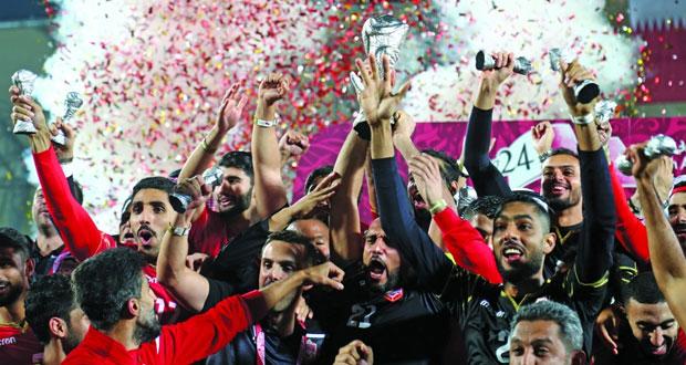 البحرين بطل الخليج لأول مرة