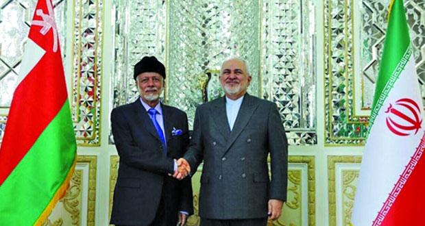 الوزير المسؤول عن الشؤون الخارجية يلتقي وزير خارجية إيران