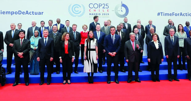 بمشاركة السلطنة .. قمة المناخ تدعو العالم لـ(مسار الأمل)