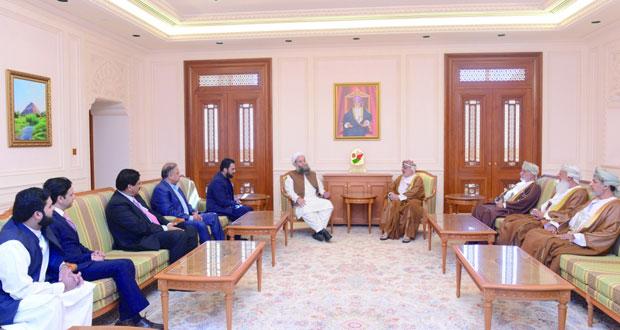 رئيس مجلس الدولة يستقبل وزير الأوقاف والشؤون الدينية الباكستاني