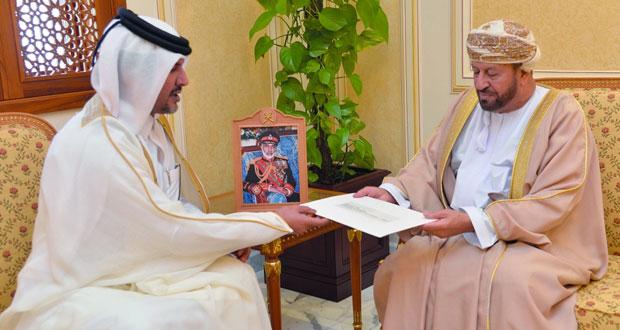 الوزير المسؤول عن شؤون الدفاع يتلقى دعوة لحضور معرض ومؤتمر الدوحة الدولي للدفاع البحري