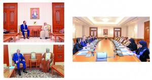 مباحثات رسمية بين السلطنة وكازاخستان لتعزيز التعاون البرلماني