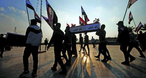 العراق : سقوط صواريخ بمحيط مطار بغداد