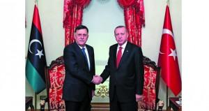 تركيا في طريقها لإقرار دعم عسكري لـ(الوفاق الليبية)
