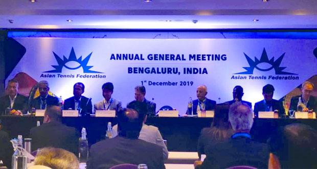 الاتحاد العماني للتنس يشارك في اجتماع الجمعية العمومية للاتحاد الآسيوي بالهند