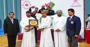 ختام بطولة عمان للكاراتيه