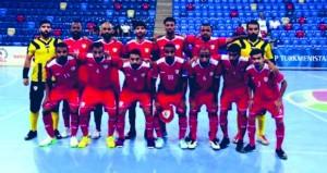 منتخبنا لكرة القدم للصالات في المجموعة الأولى بكأس آسيا