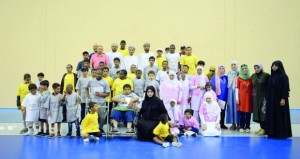 الشؤون الرياضية بمحافظة ظفار تنظم يوما رياضيا لذوي الإعاقة