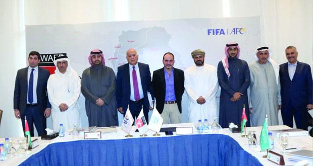 اتحاد الكرة يشارك في اجتماع المكتب التنفيذي لاتحاد غرب آسيا