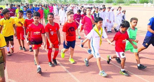 مهرجان ألعاب القوى للأطفال بصلالة