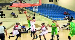 مباراتان في انطلاق الدور الأول من دوري عام السلطنة لكرة السلة