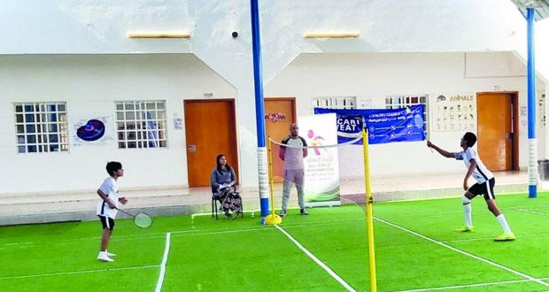 تعليمية جنوب الشرقية تختتم مسابقة كرة الريشة الطائرة للذكور
