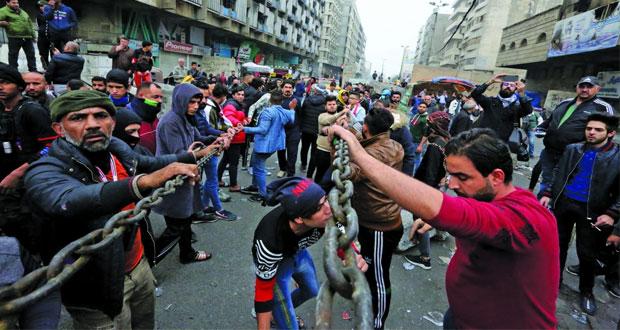 العراق: (مسيرة) تهاجم منزل الصدر غداة ليلة دامية