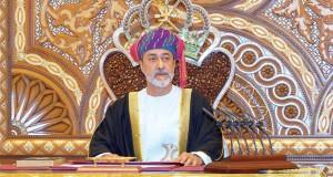 جلالة السلطان يتبادل تهاني عيد الفطر مع قادة البحرين وقطر والكويت