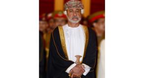 جلالة السلطان يتلقى التهاني من رئيسي مجلسي الدولة والشورى والوزير المسؤول عن شؤون الدفاع والمفتش العام