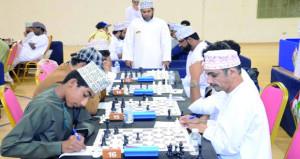 نتائج مثيرة في الجولة الأولى لبطولة المنتخب الوطني للشطرنج