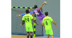 اليوم أربع مباريات في الجولة الثالثة بالدور الأول لدوري عام السلطنة لكرة اليد
