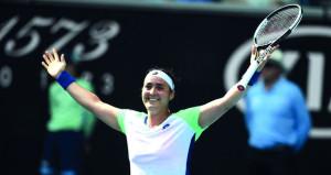 في بطولة استراليا: إنجاز عربي للتونسية أنس جابر وعبور سهل لديوكوفيتش