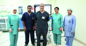 المستشفى السلطاني ينجح في استئصال الخلايا التالفة بالبنكرياس عبر تقنية الأشعة الصوتية بالمنظار للمرة الأولى بالسلطنة