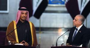 مباحثات عراقية قطرية تناقش أوضاع المنطقة