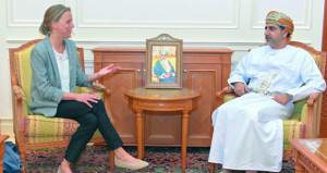 أمين عام مجلس الشورى يستقبل مسؤولة الشؤون السياسية بمندوبية الاتحاد الأوروبي