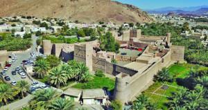 صون القلاع والحصون حظي باهتمام جلالة السلطان الراحل باعتبارها إرثا حضاريا ضاربا في أعماق التاريخ