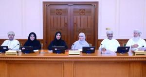 اجتماع لتحديد محاور الاستضافات لدراسة (استثمار التقنية والابتكار) بمجلس الدولة