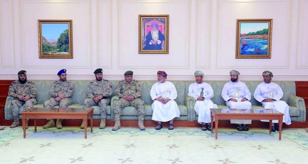 وفد عسكري سعودي يتعرف على اختصاصات مجلسي الدولة والشورى