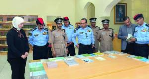 وفد مديرية الأمن العام بالمملكة الأردنية الهاشمية يزور السلطنة